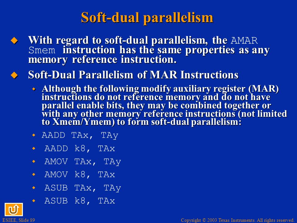 Soft-dual parallelism