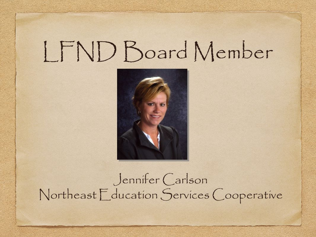 Jennifer Carlson Northeast Education Services Cooperative