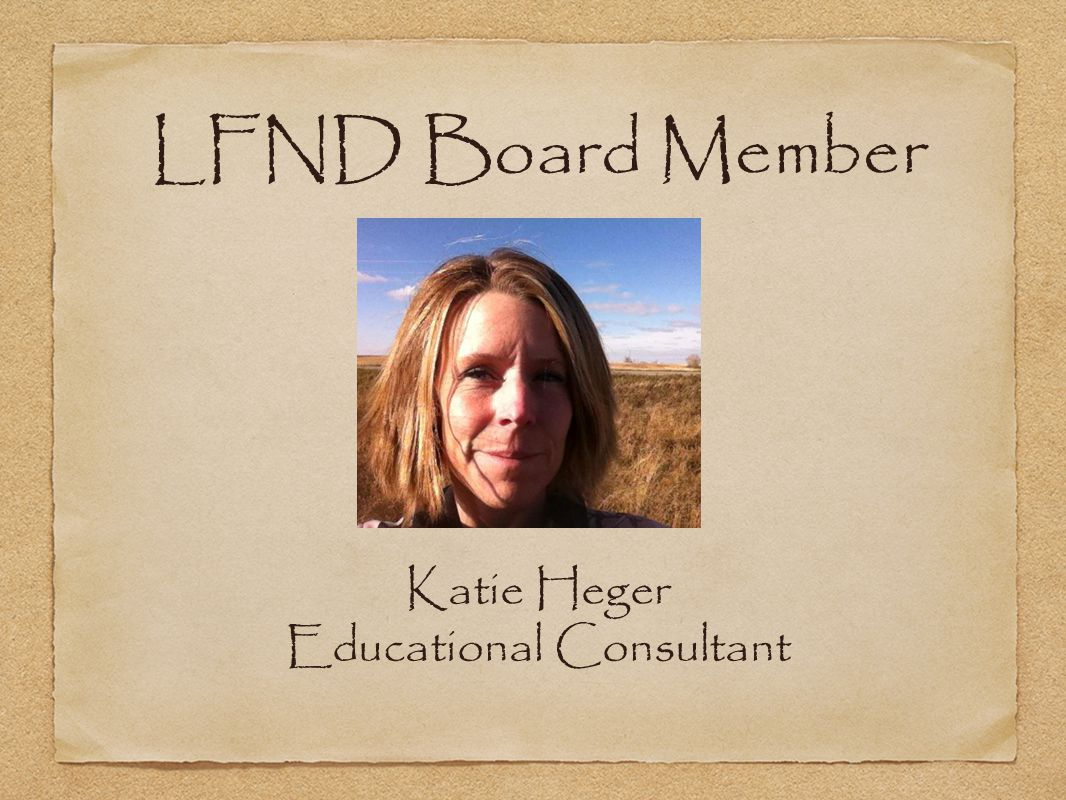 Katie Heger Educational Consultant
