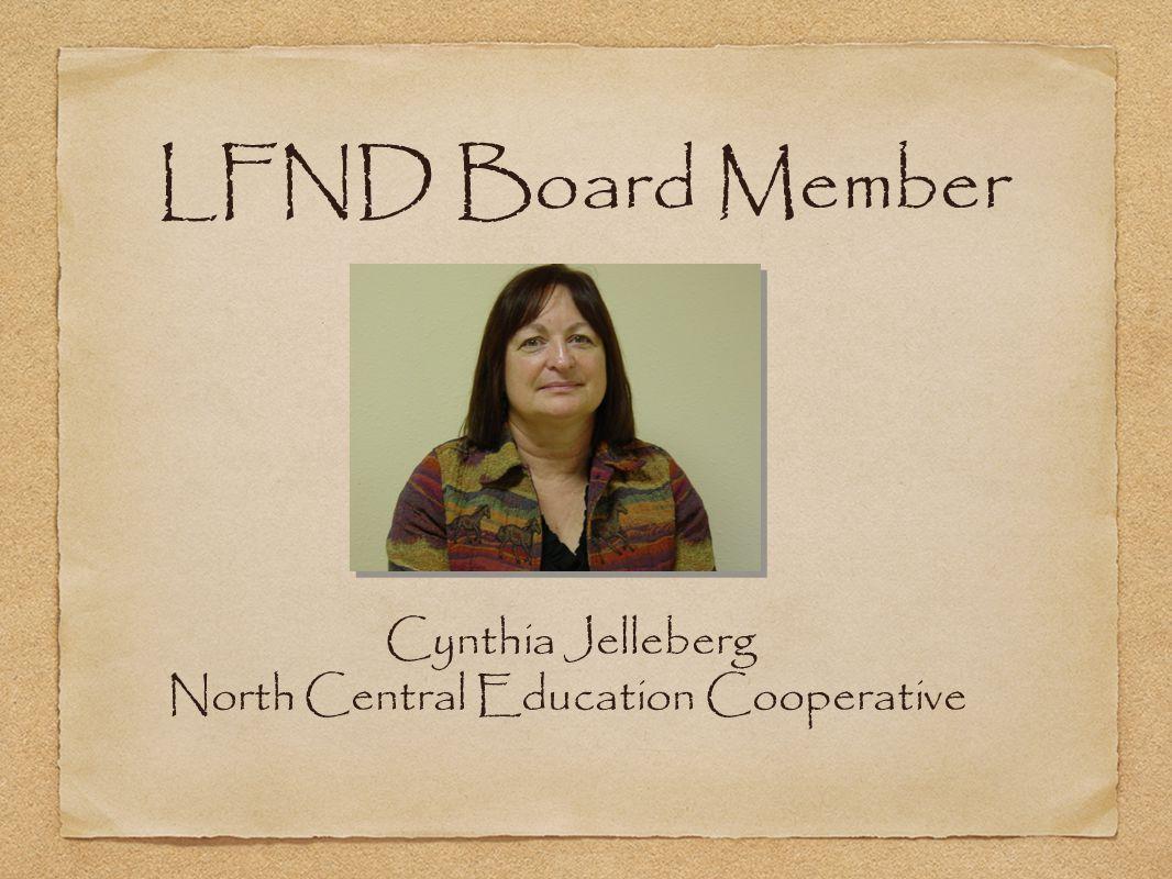Cynthia Jelleberg North Central Education Cooperative