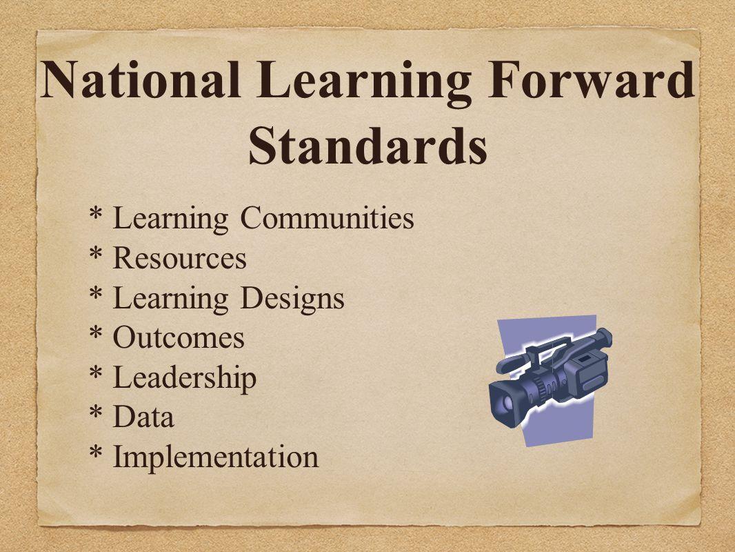 National Learning Forward Standards