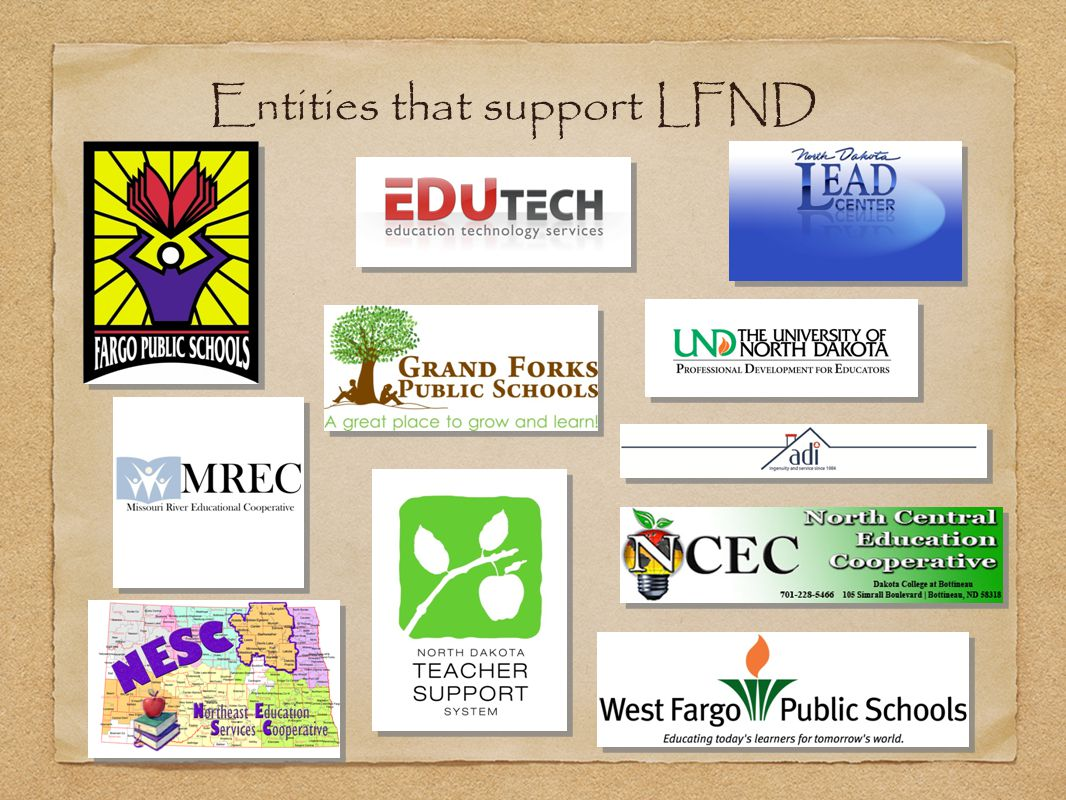 Entities that support LFND