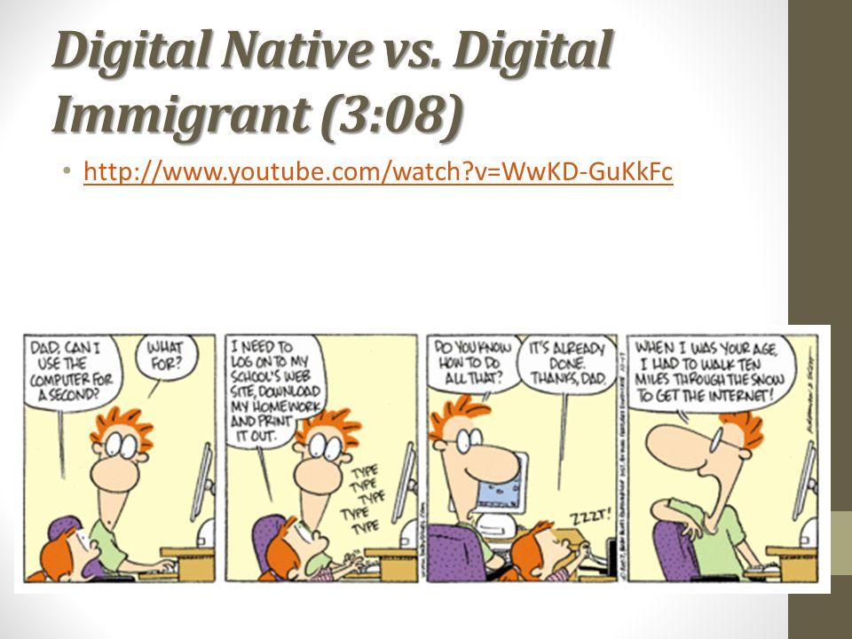 Digital Native vs. Digital Immigrant (3:08)