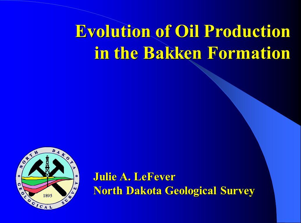Evolution of Oil Production in the Bakken Formation