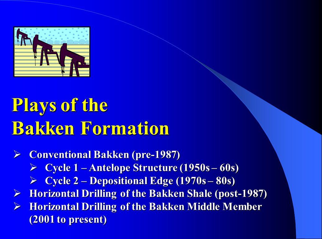 Plays of the Bakken Formation