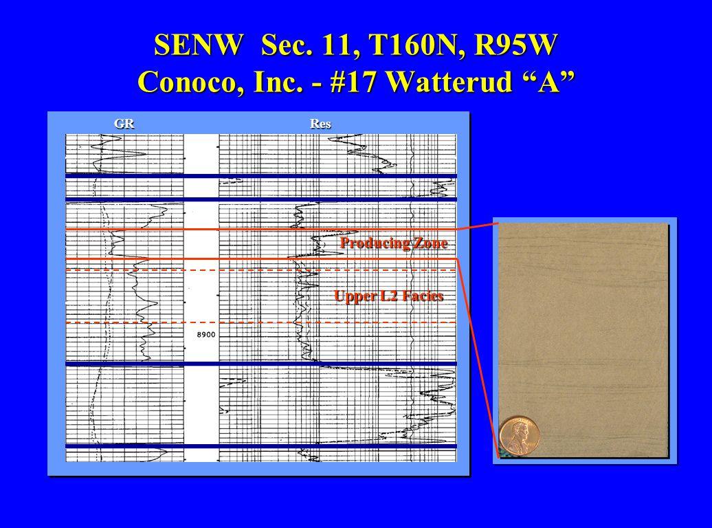 SENW Sec. 11, T160N, R95W Conoco, Inc. - #17 Watterud A