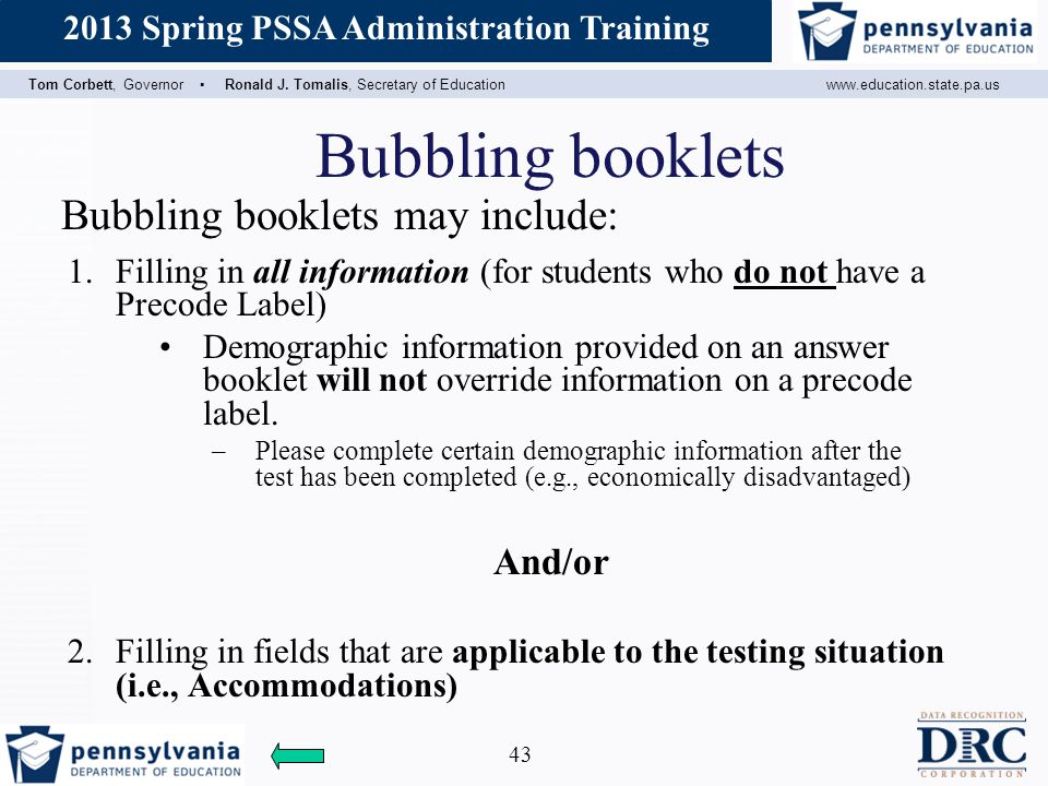 Bubbling booklets Bubbling booklets may include: And/or