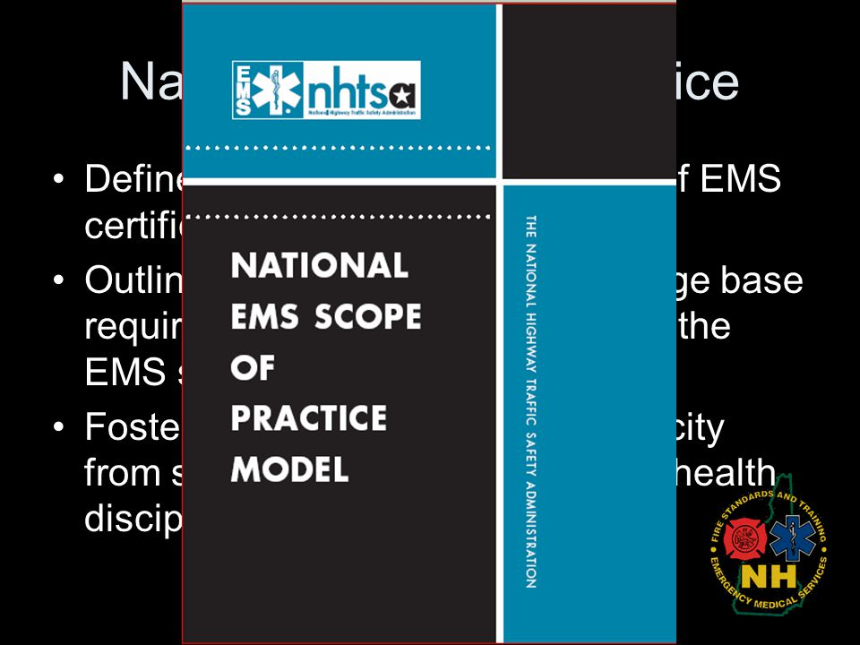 National Scope of Practice