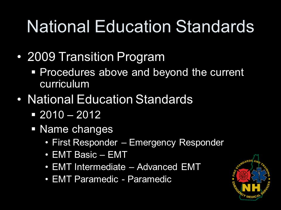 National Education Standards