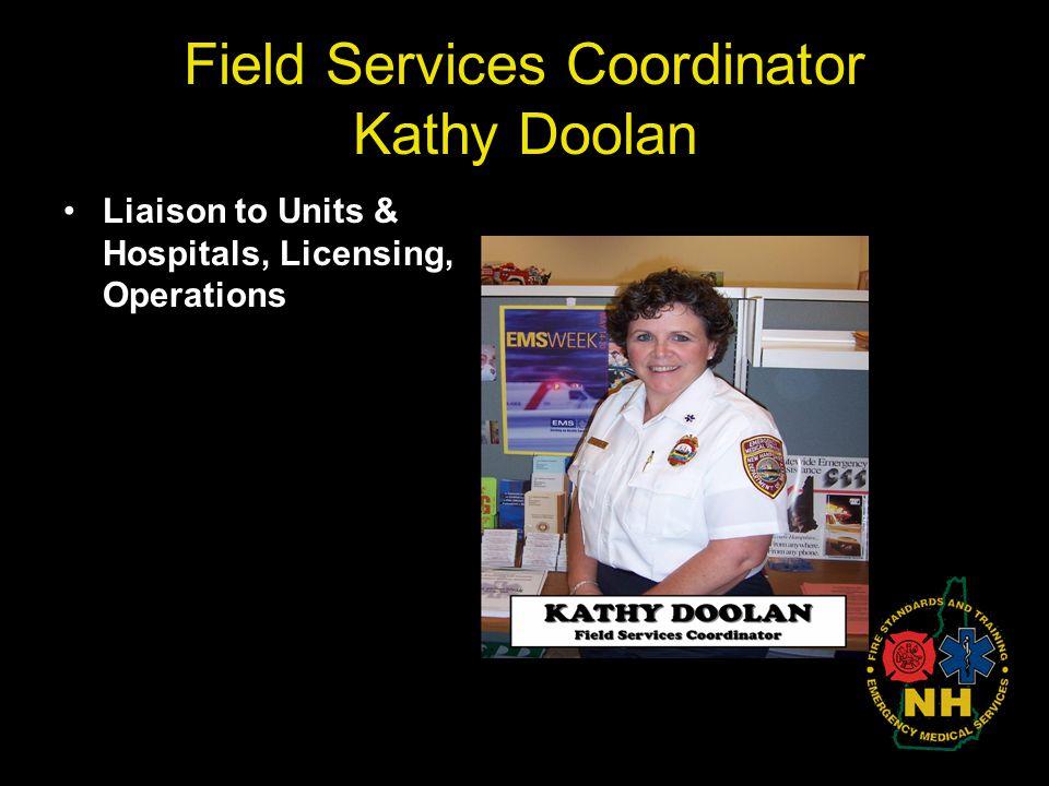 Field Services Coordinator Kathy Doolan