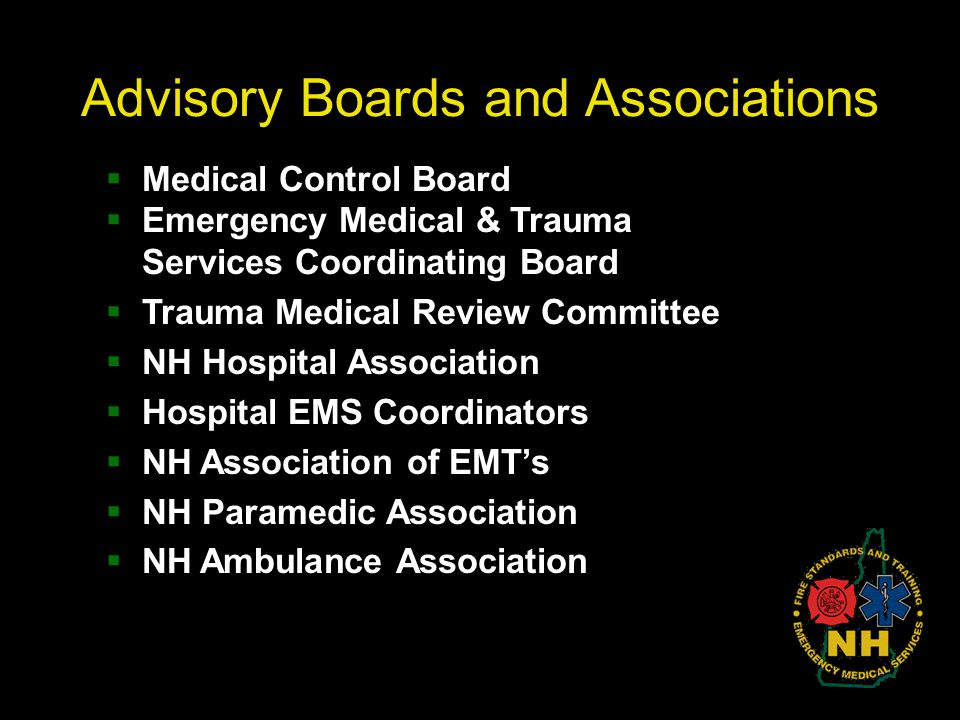 Advisory Boards and Associations
