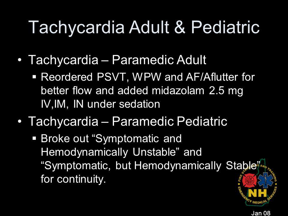 Tachycardia Adult & Pediatric