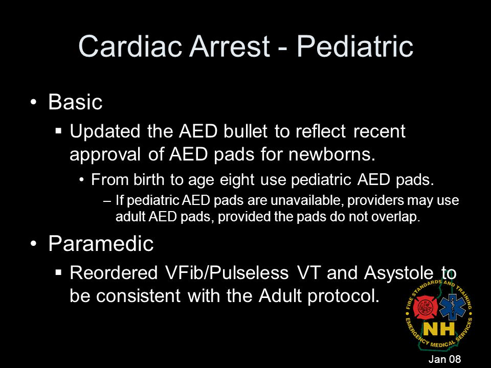 Cardiac Arrest - Pediatric