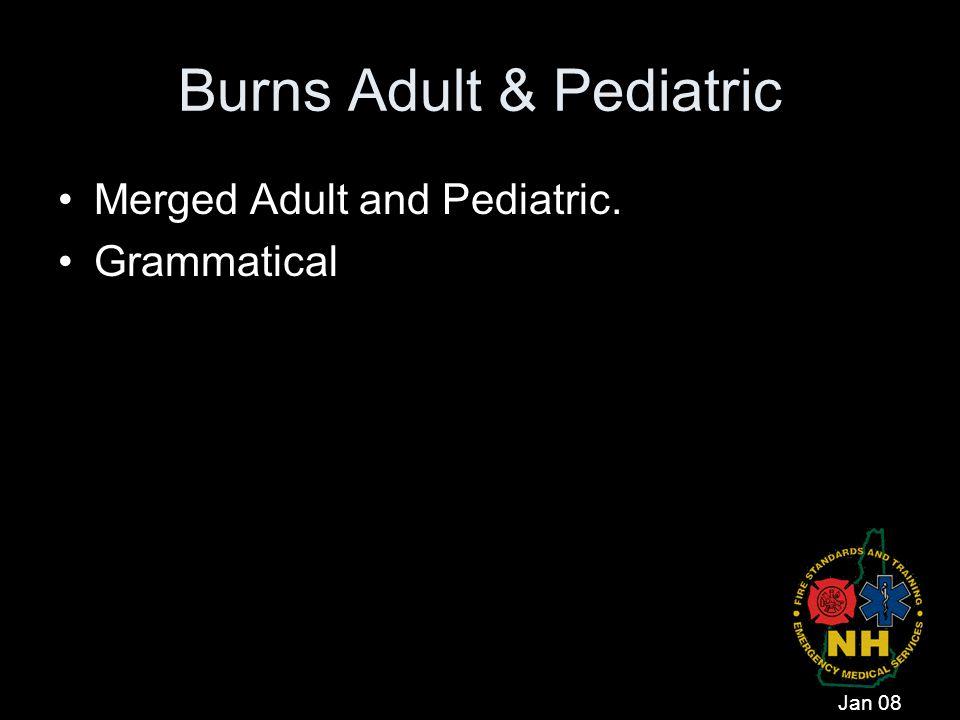 Burns Adult & Pediatric