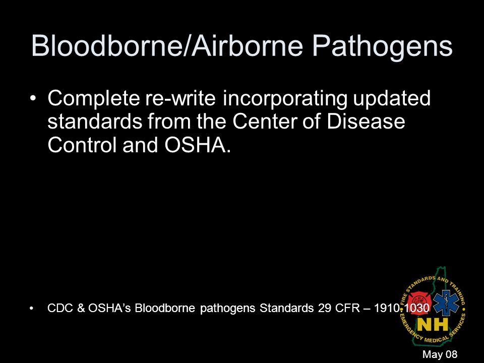 Bloodborne/Airborne Pathogens