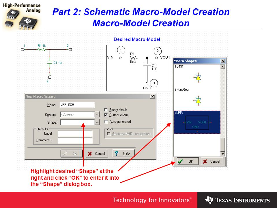Part 2: Schematic Macro-Model Creation