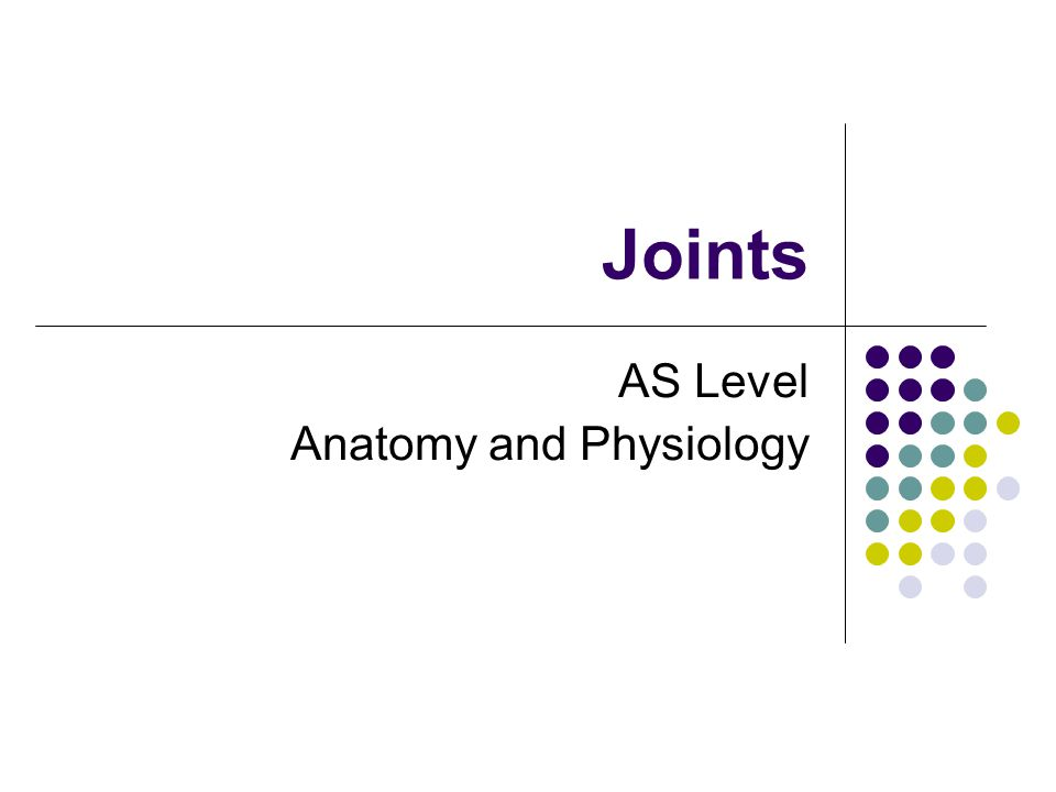 AS Level Anatomy and Physiology - ppt video online download
