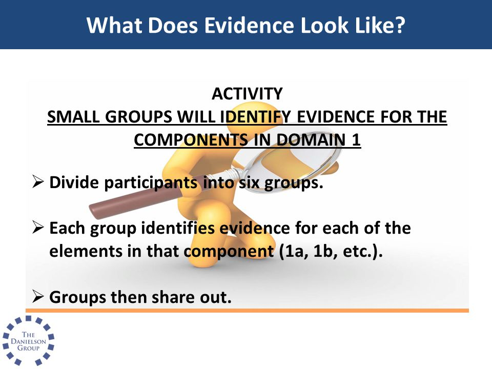 What Does Evidence Look Like
