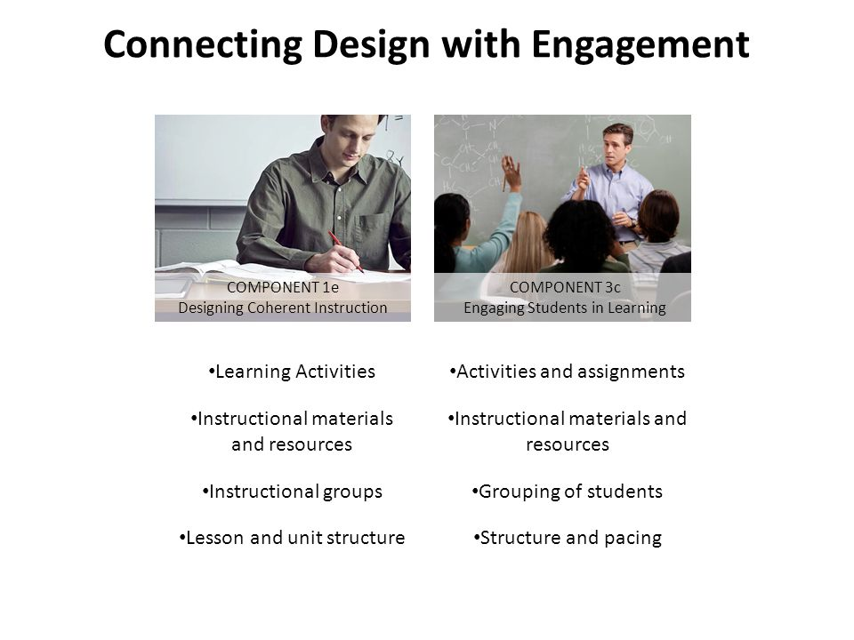 Connecting Design with Engagement