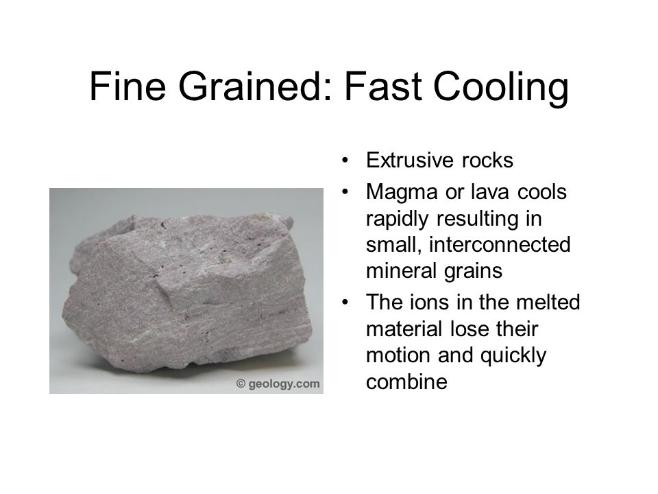 Fine Grained: Fast Cooling