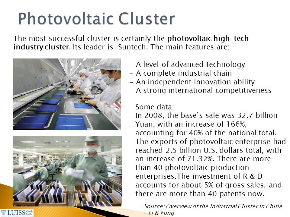 Photovoltaic Cluster