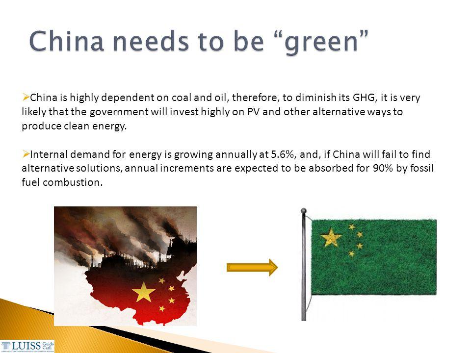 China needs to be green