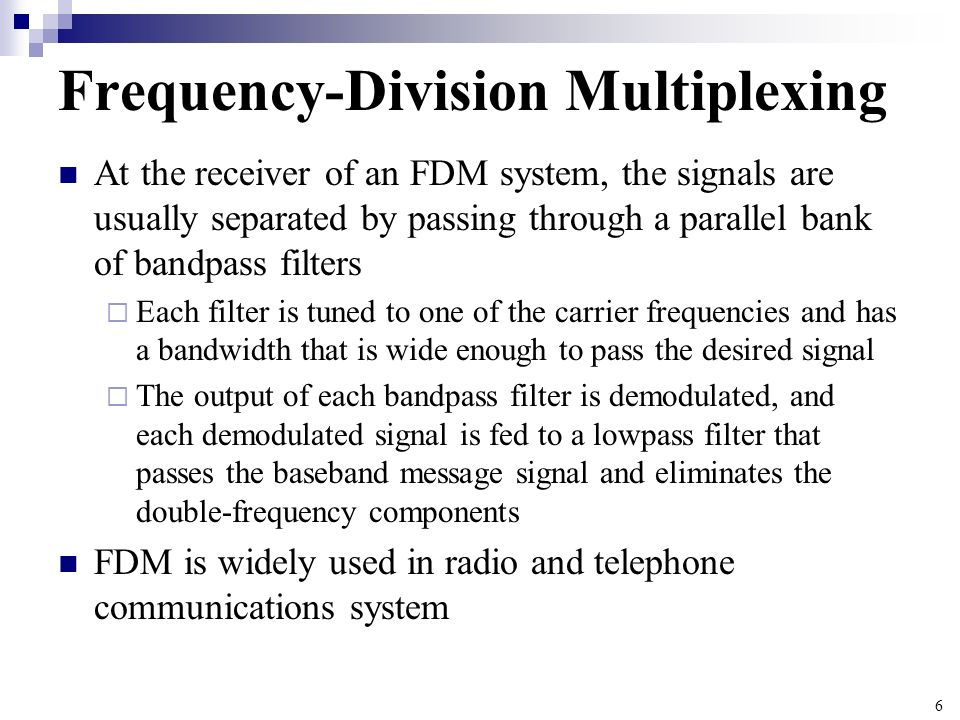 Frequency-Division Multiplexing