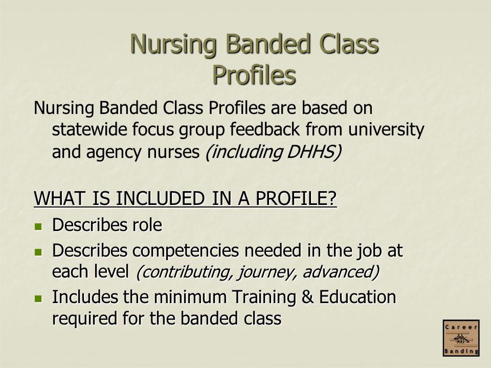 Nursing Banded Class Profiles