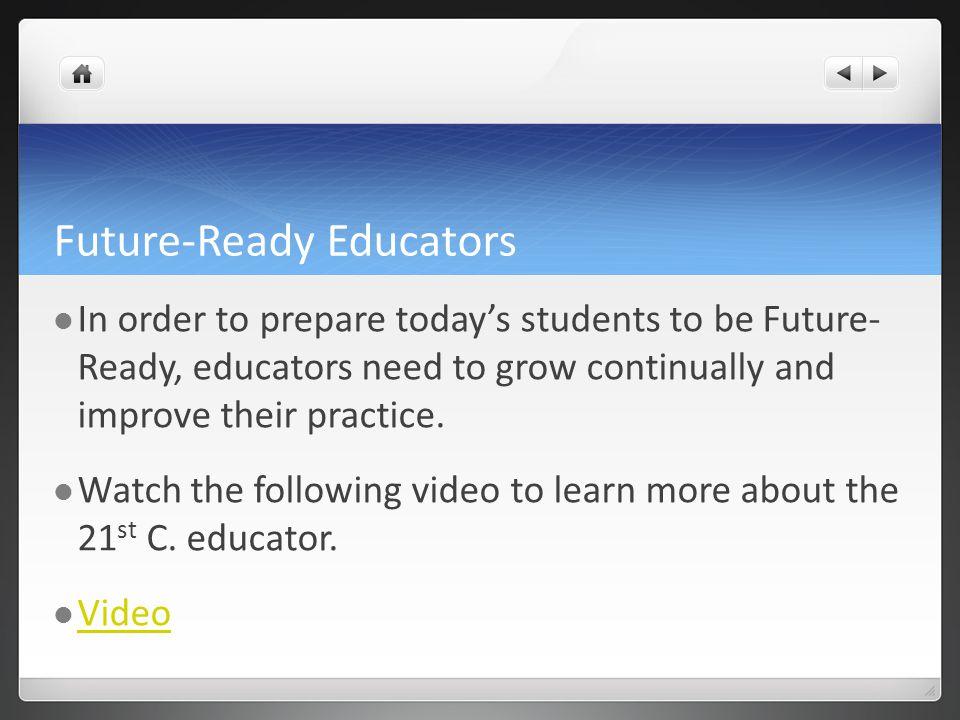 Future-Ready Educators