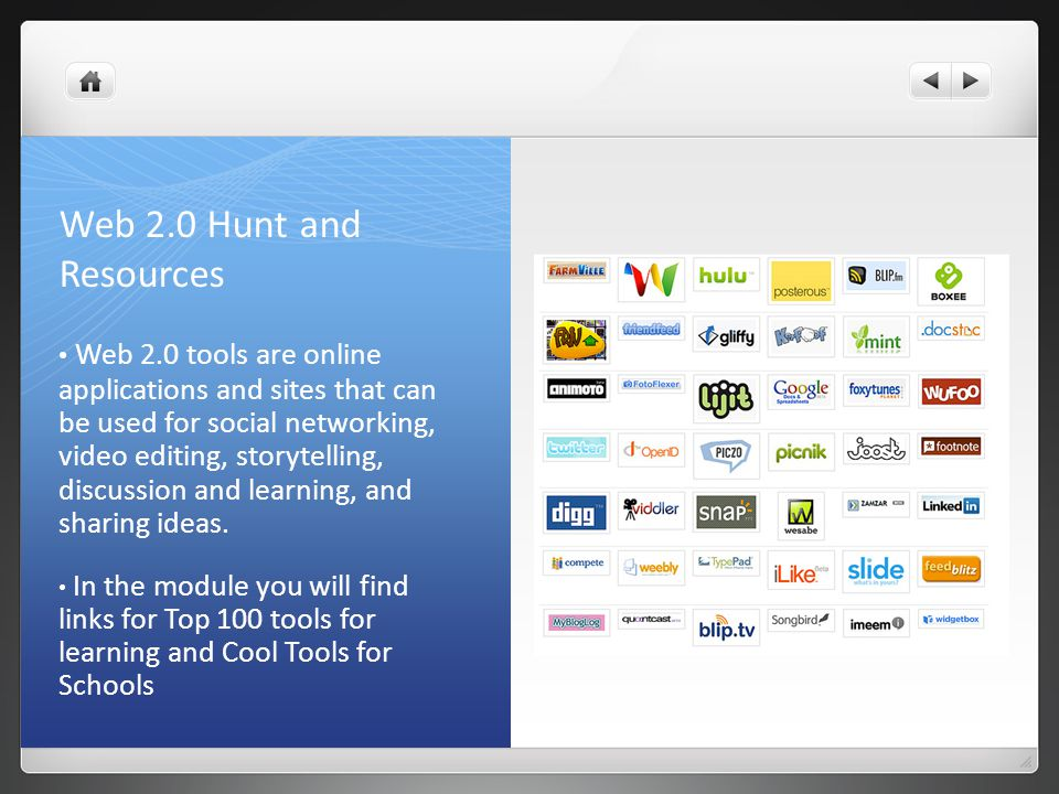 Web 2.0 Hunt and Resources