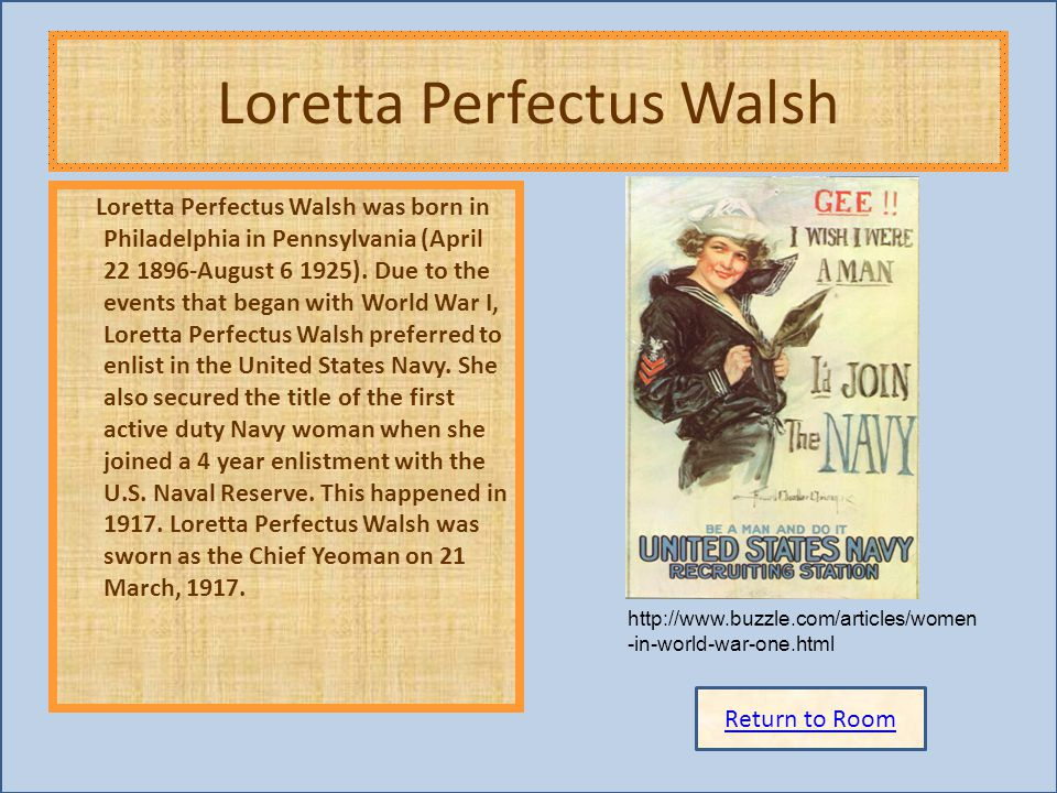Loretta Perfectus Walsh