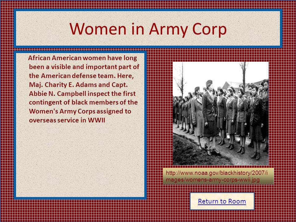 Women in Army Corp