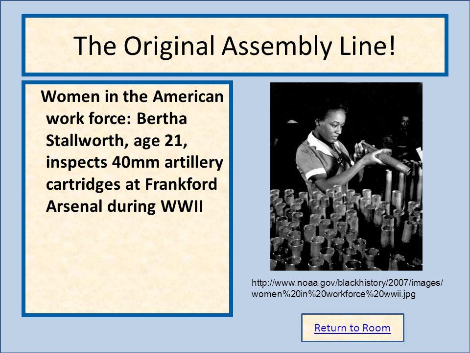 The Original Assembly Line!