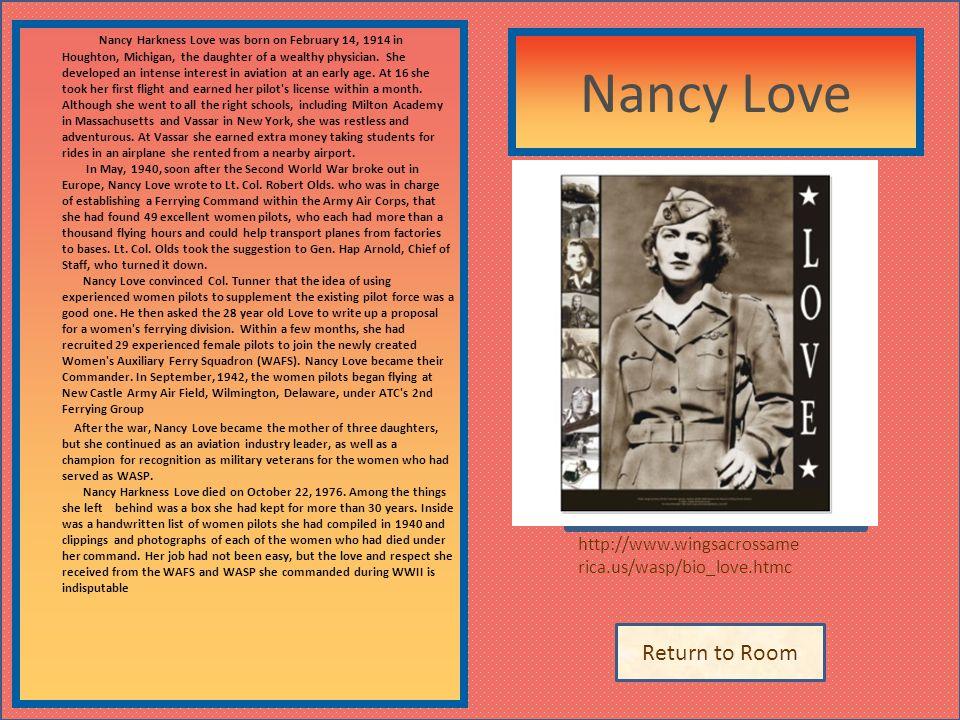 Nancy Love Describe the artifact here. Insert artifact here