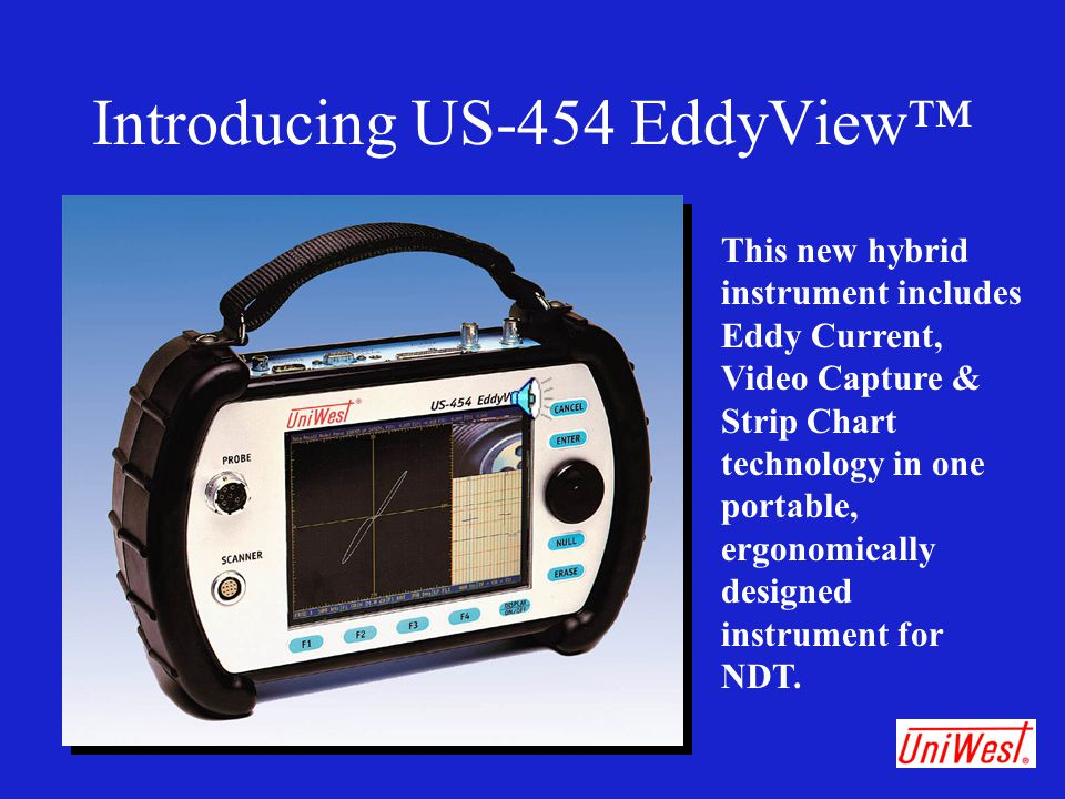 Introducing US-454 EddyView™
