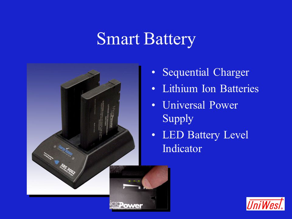Smart Battery Sequential Charger Lithium Ion Batteries