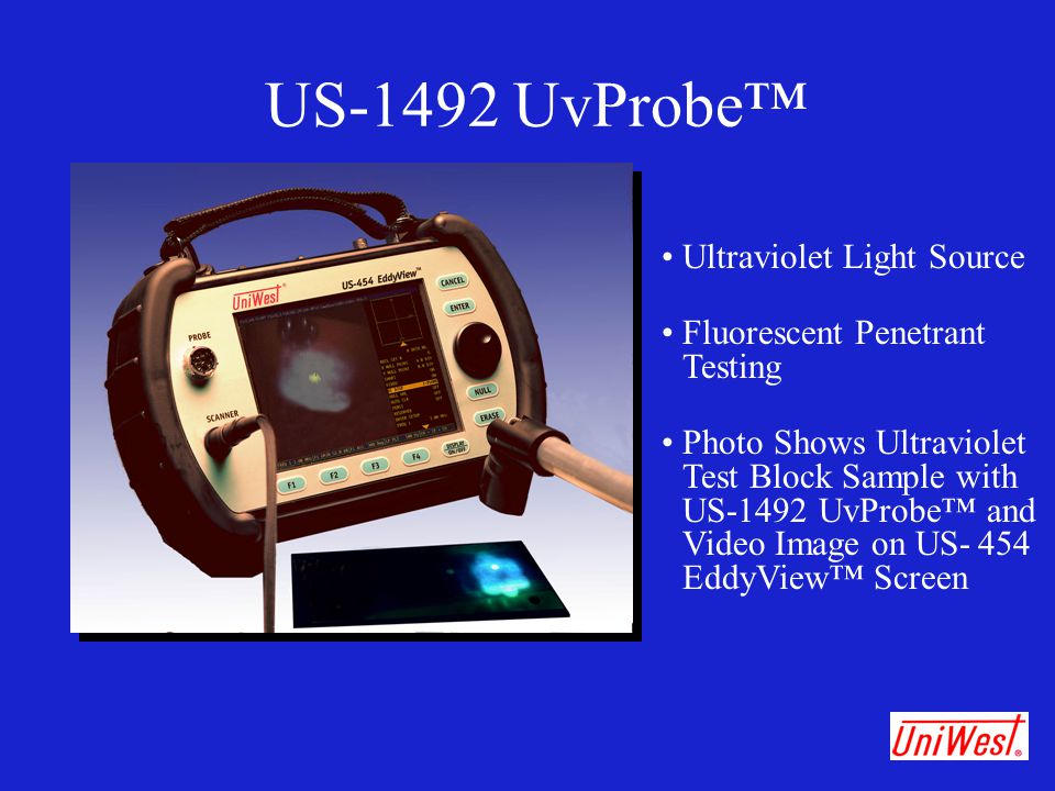 US-1492 UvProbe™ • Ultraviolet Light Source