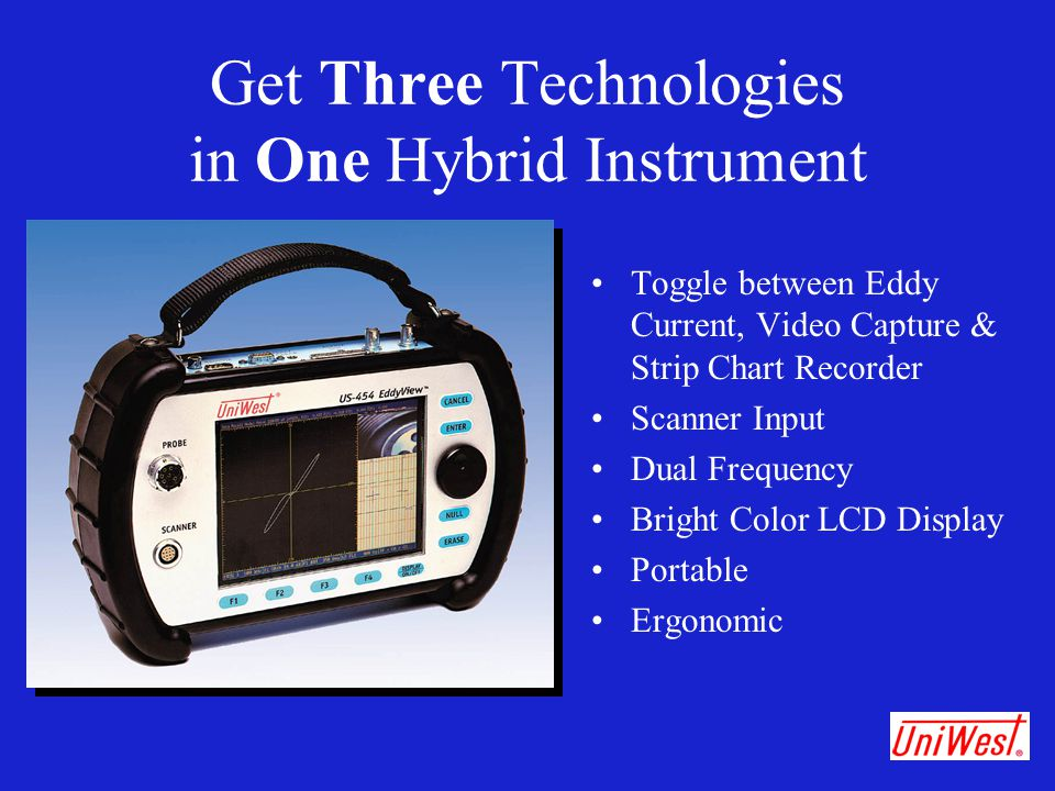 Get Three Technologies in One Hybrid Instrument