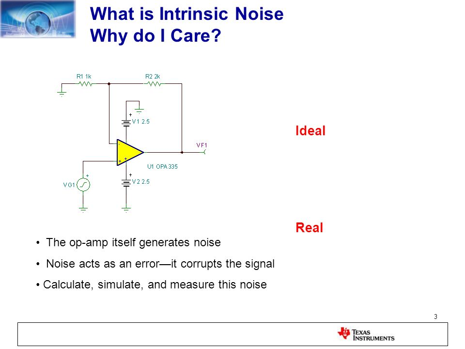 What is Intrinsic Noise Why do I Care