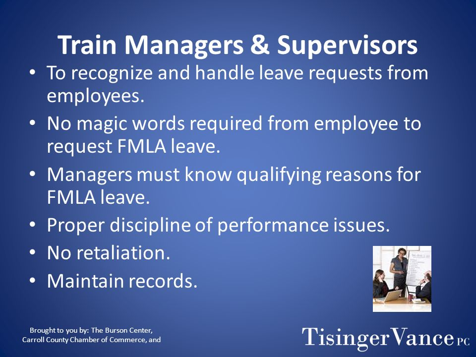 Train Managers & Supervisors
