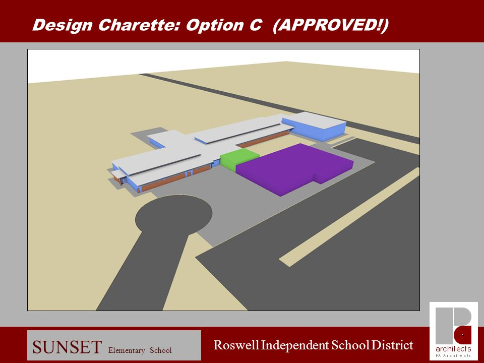 Design Charette: Option C (APPROVED!)