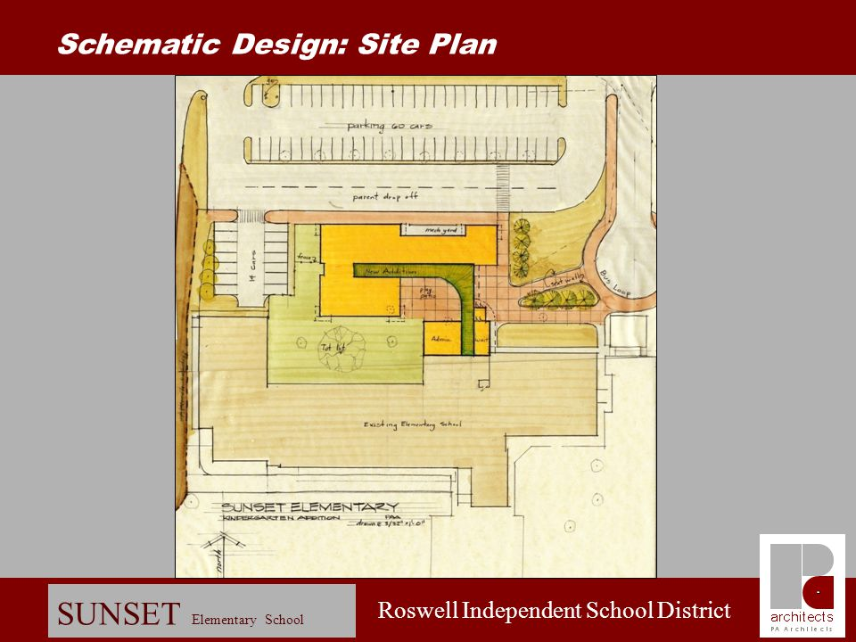 Schematic Design: Site Plan