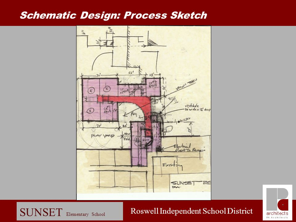 Schematic Design: Process Sketch