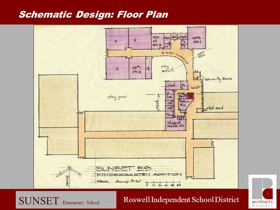 Schematic Design: Floor Plan