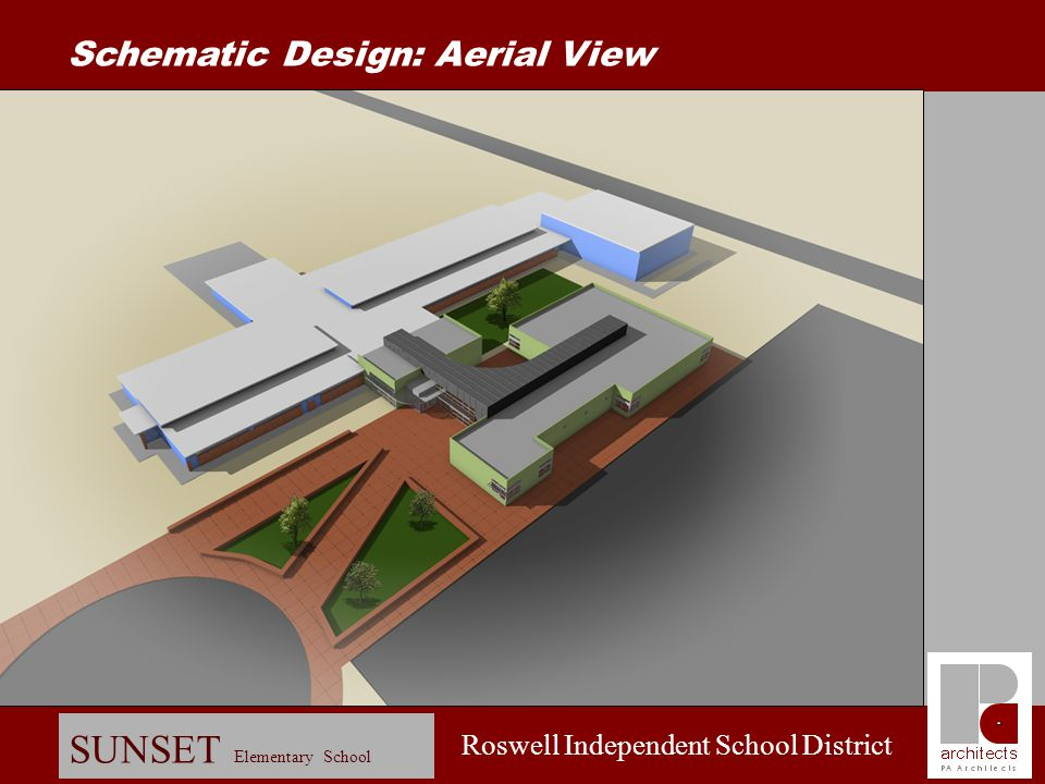 Schematic Design: Aerial View