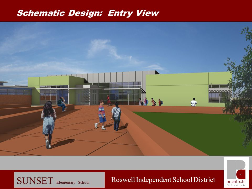 Schematic Design: Entry View