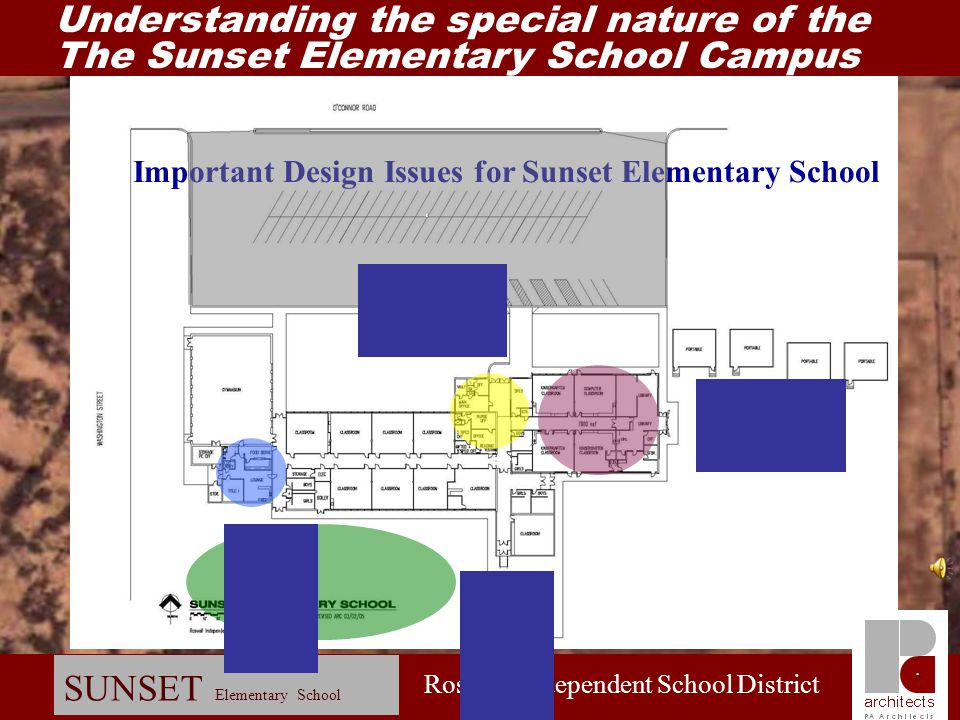 Important Design Issues for Sunset Elementary School