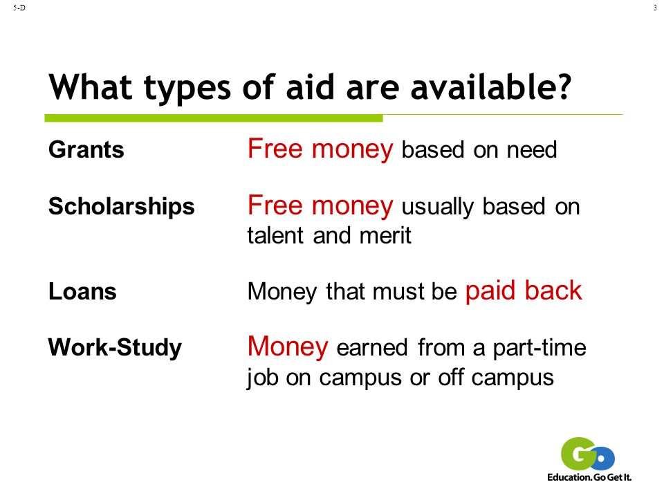 What types of aid are available