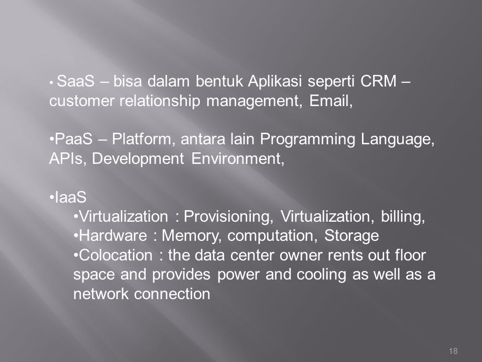 Virtualization : Provisioning, Virtualization, billing,