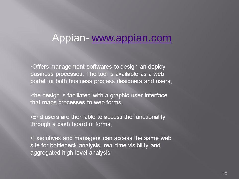 Appian- www.appian.com
